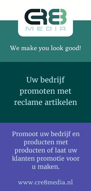 Uw bedrijf promoten met reclame artikelen - CRE8media