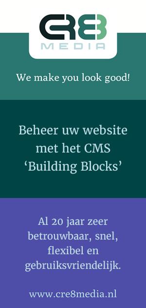 Beheer uw website met het CMS Building Blocks