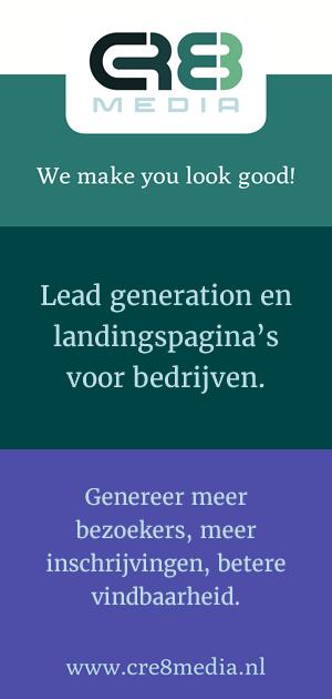 Landingspagina's voor bedrijven en organisaties - CRE8media