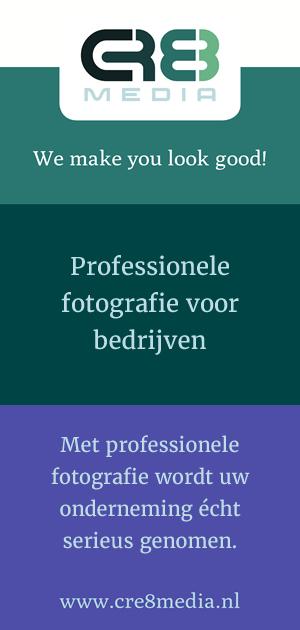 Professionele fotografie voor bedrijven - CRE8media
