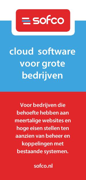 Cloud software voor grote bedrijven